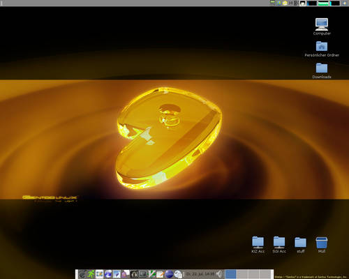 Desktop at University