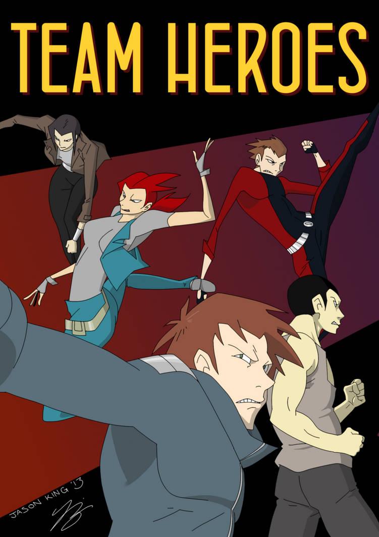 #Team Heroes cover (2013 update) by KeeperOfPork