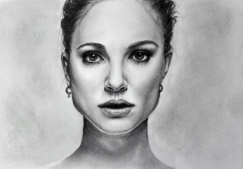 Natalie Portman by TheSixBPencil
