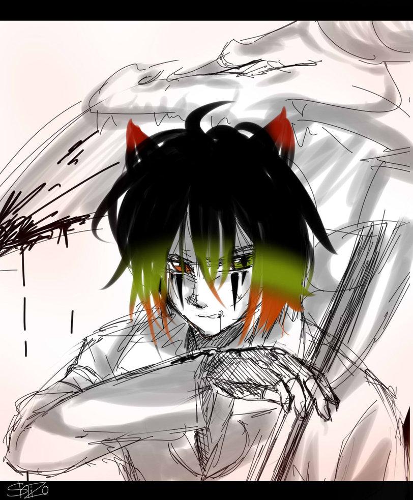 Sketch by Shisorus by xXFireStarryXx