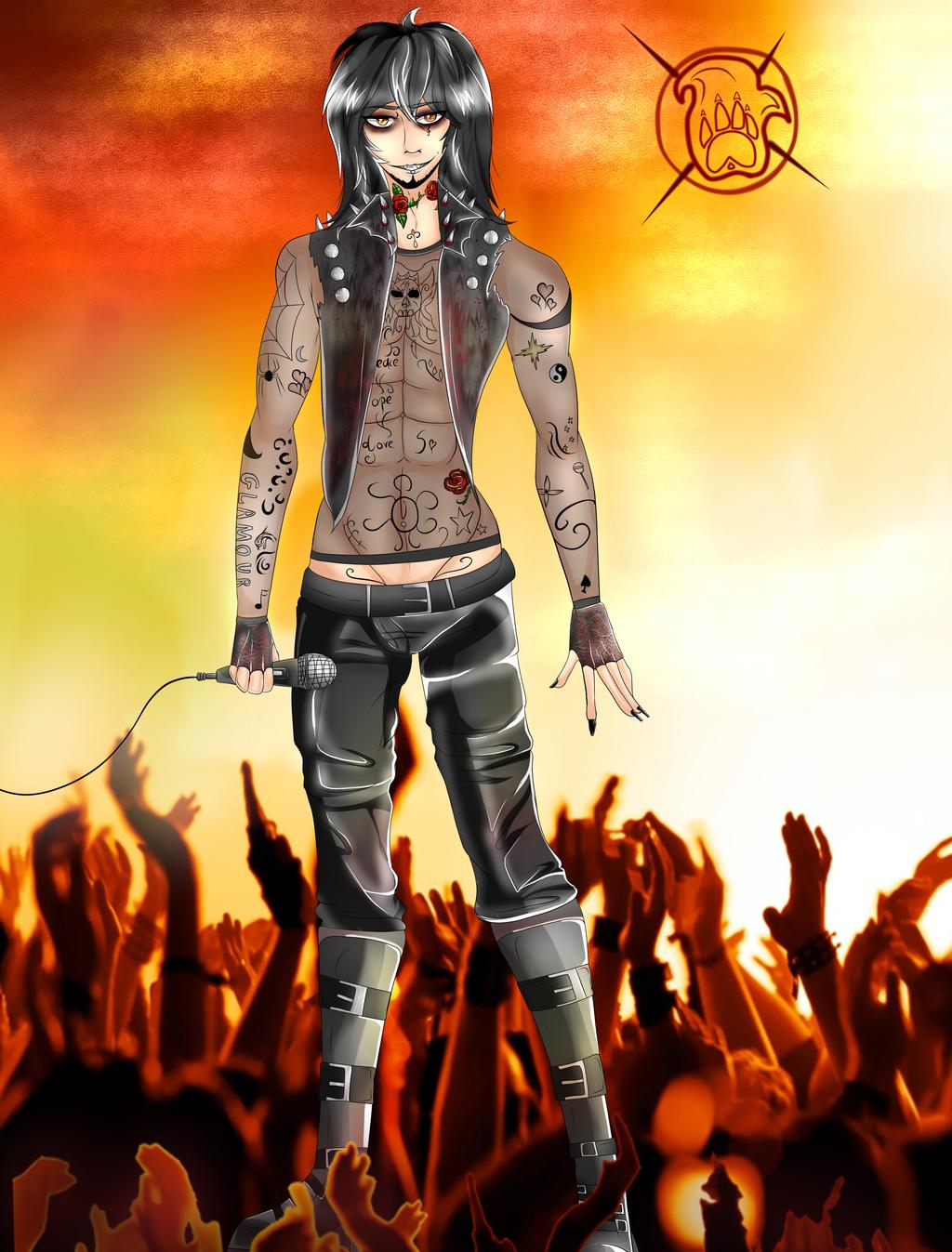Rock Star ..At.. by xXFireStarryXx
