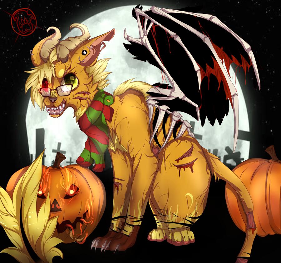 Communion of the curse ..Happy Halloween .. by xXFireStarryXx