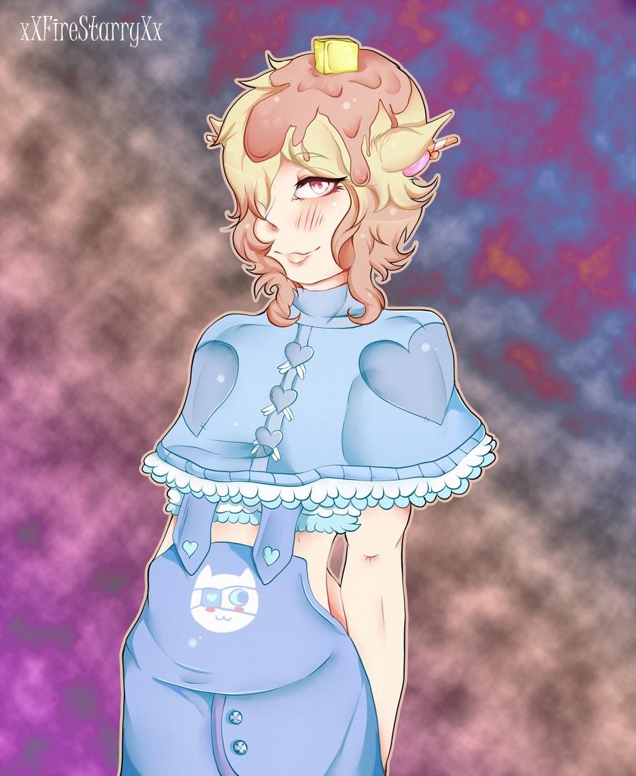 Peach .:Gift:. by xXFireStarryXx
