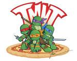 Teenage Mutant Ninja Chibi's