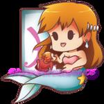 Pisces - Misty and Ponyo