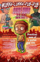 Rick and Morty - Magazine by PenguinAttackStudios