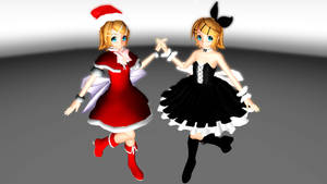MERRY CHRISTMAS Rin Models for download