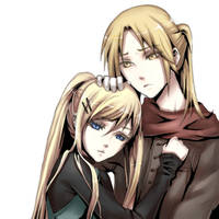 Ed and Winry by pupururu