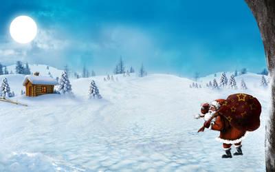 Santa by chamirra