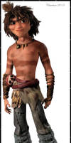 Croods-Guy-Painting