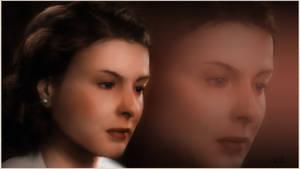 Ingrid Bergman Painting