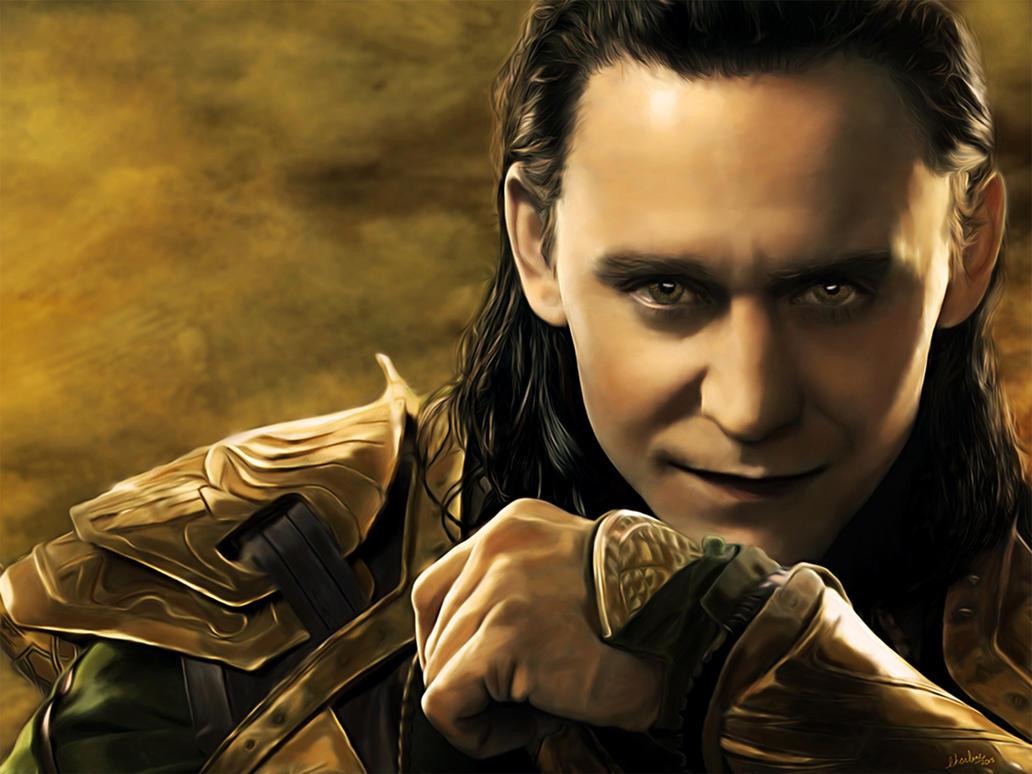 Loki(Digital Painting) by chamirra