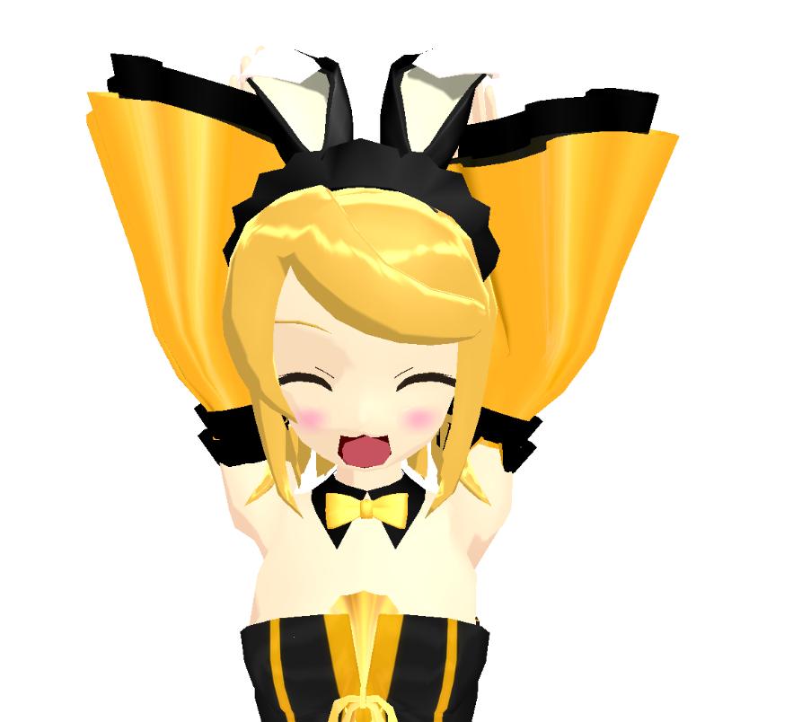 MMD - Bunneeh Lolita Rin DL by Arkenidae
