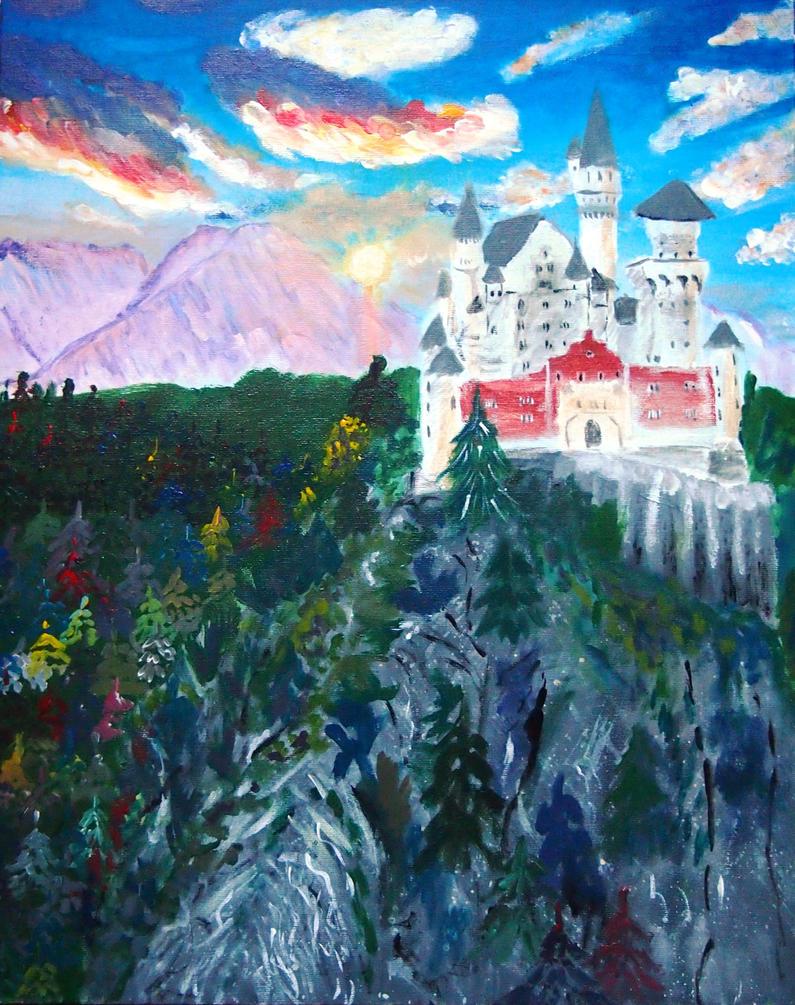 Neuschwanstein by Sobola