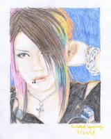 Aoi - the GazettE by twisted-spoonz