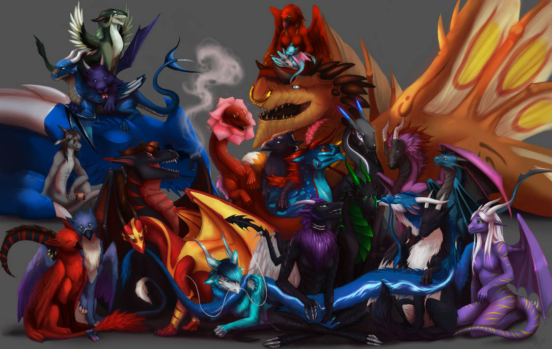 (Commission) FDergz group picture by NetrialisPL