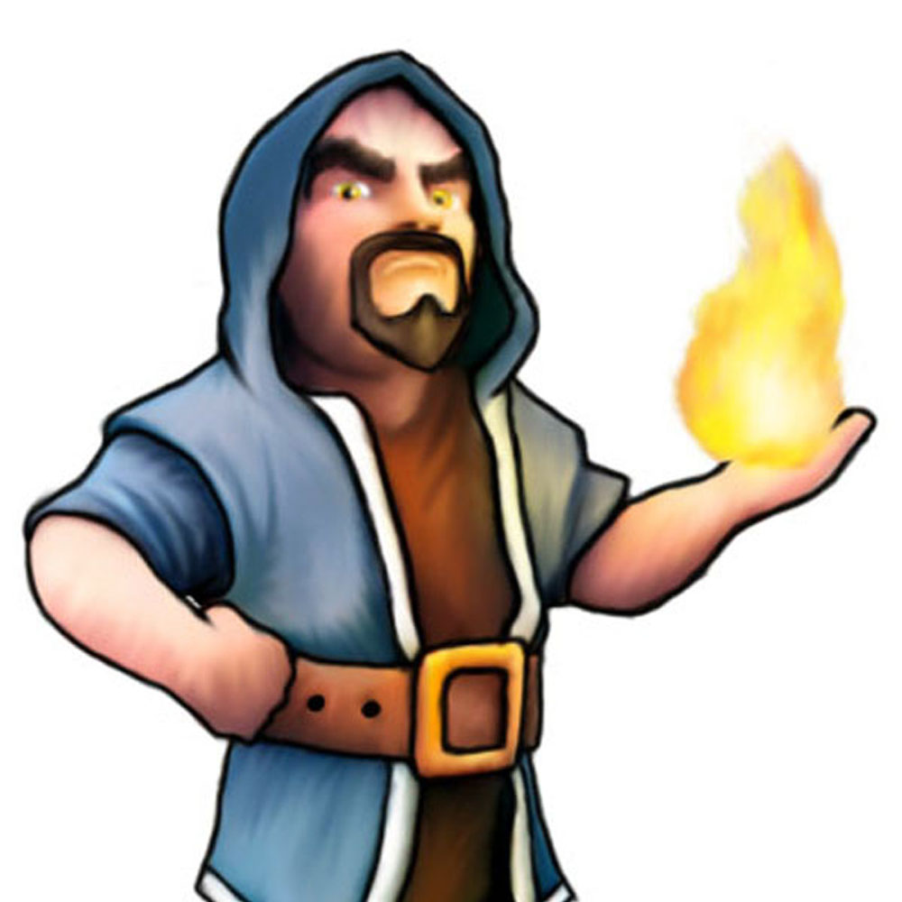 Clash Of Clans Wizard By Scout90 On DeviantArt