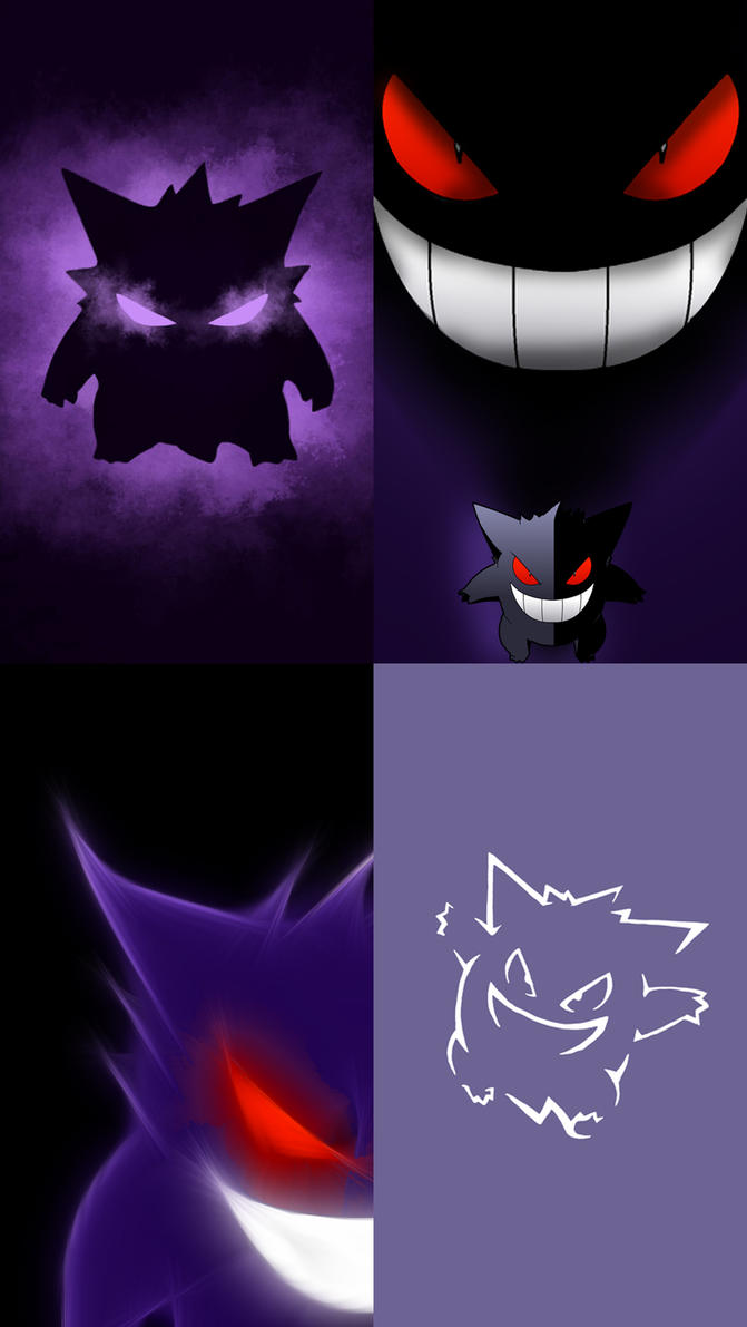 iphone pokemon wallpaper gengar iphone 5 wallpapers by acester8 on deviantart 8446