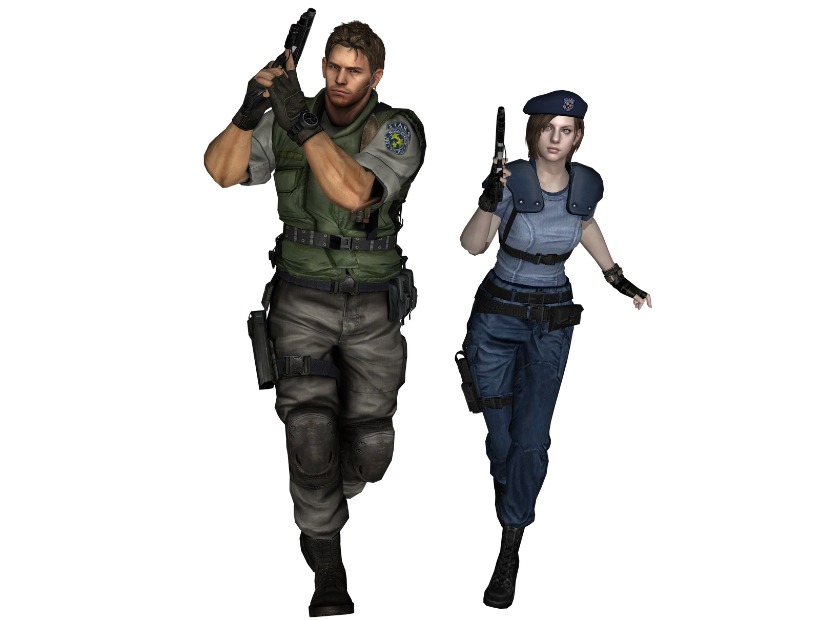 Chris and Jill by neromatherson
