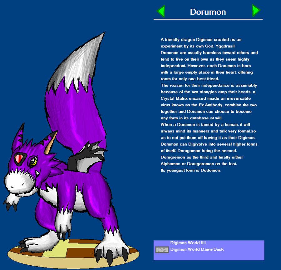 Dorumon - Smash Bros Trophy