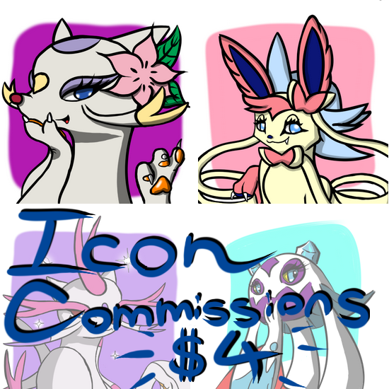 Icon Commisions! by Thundrbolt