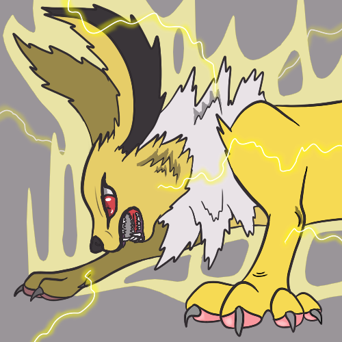 Jolteon Goes Bananas by Thundrbolt