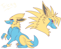 Tricity the Manectric!