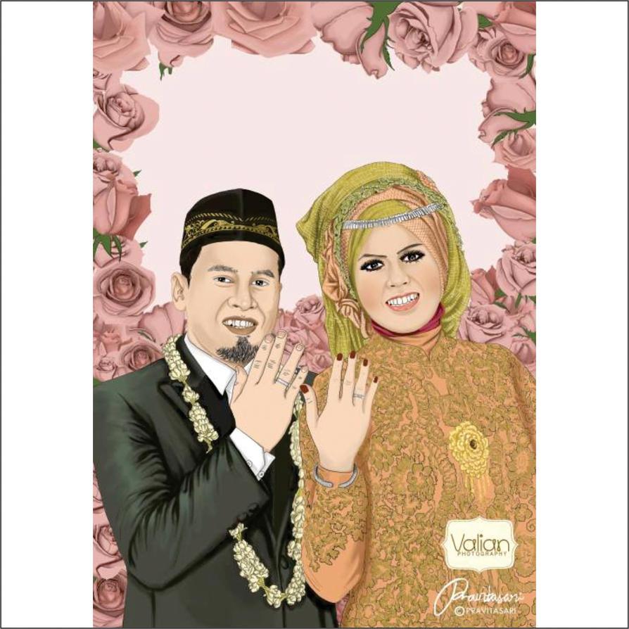 Wedding Ilustration by vitavalian