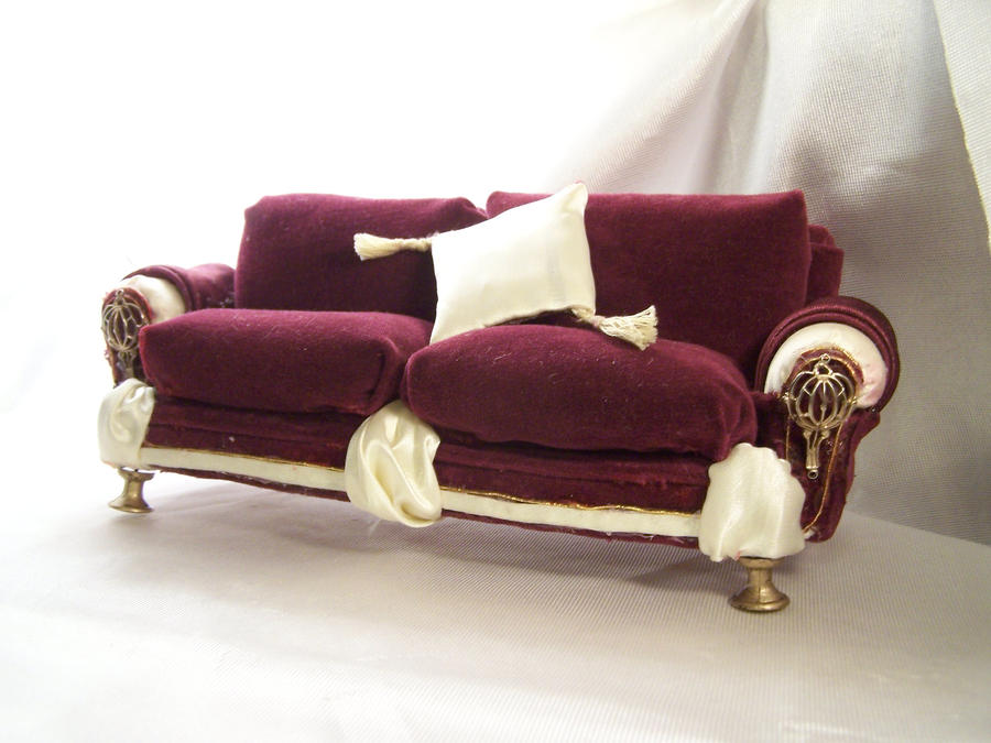 Dollhouse Furniture Couch 2 by soupfamily on DeviantArt