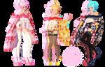 Tda Short Kimono Pack 1