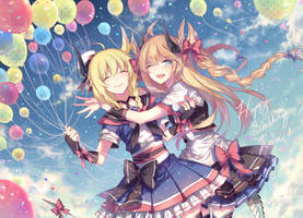 Another Reiru birthday! by Kanekiru