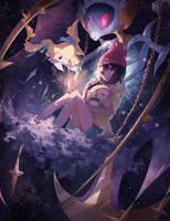 Swing around the Universe by Kanekiru