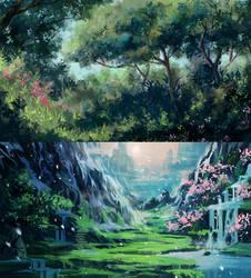 Environment Practice 2 by Kanekiru