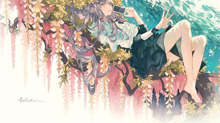 Wisteria by Kanekiru