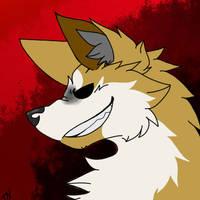 Tom as a Wolf (Eddsworld) by Driftfall