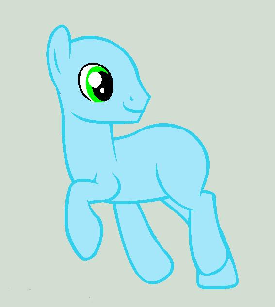 Mlp Base: Happy Colt by PepperMint0123 on DeviantArt