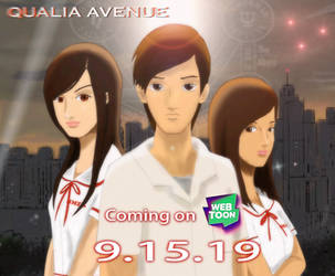 Qualia Avenue soon on WEBTOON by XMalaclypsisX