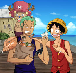 One Piece - Shopping by irusik666