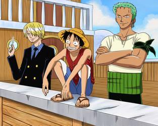 One Piece by irusik666