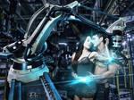 Liquid metal Cyborgs