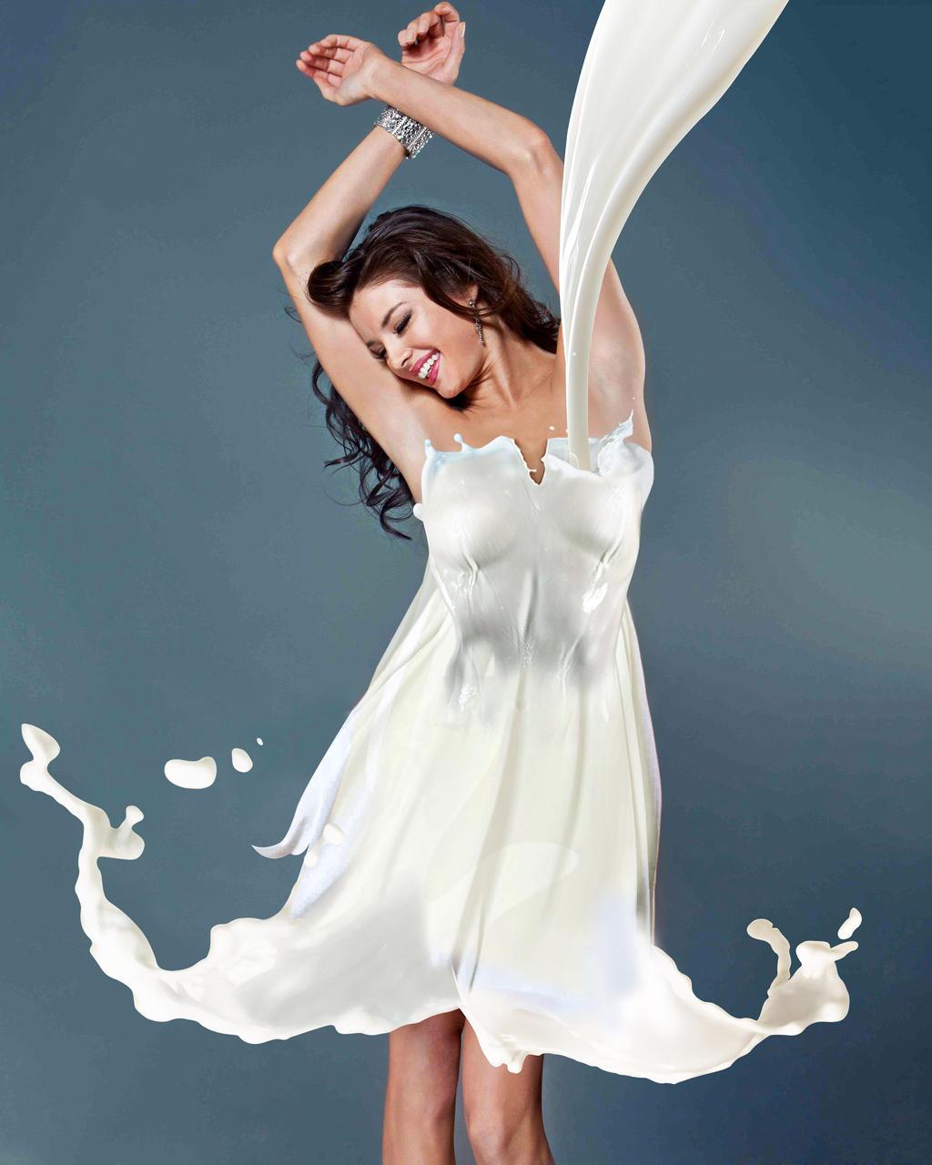 Milk Dress