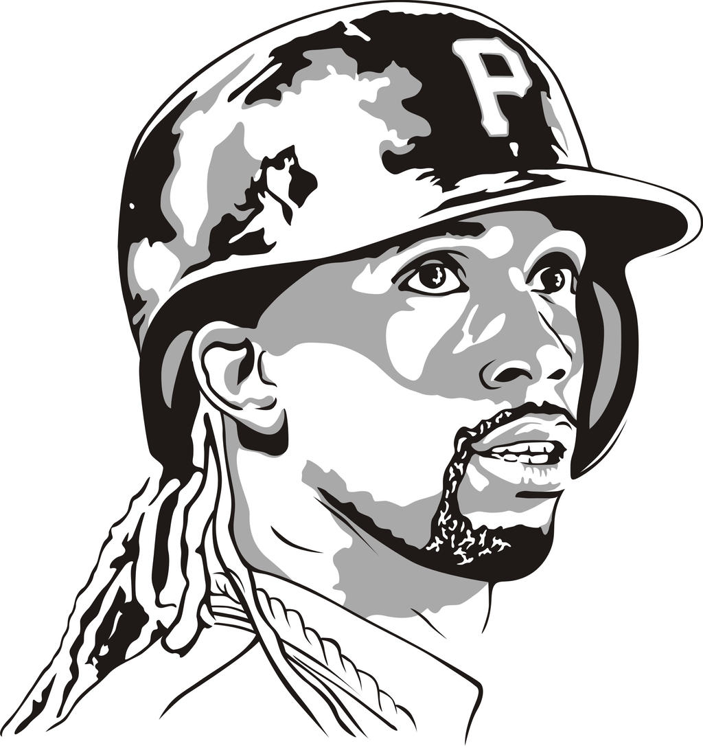 andrew mccutchen by buckmoon andrew mccutchen by buckmoon - Pittsburgh Pirates Coloring Pages