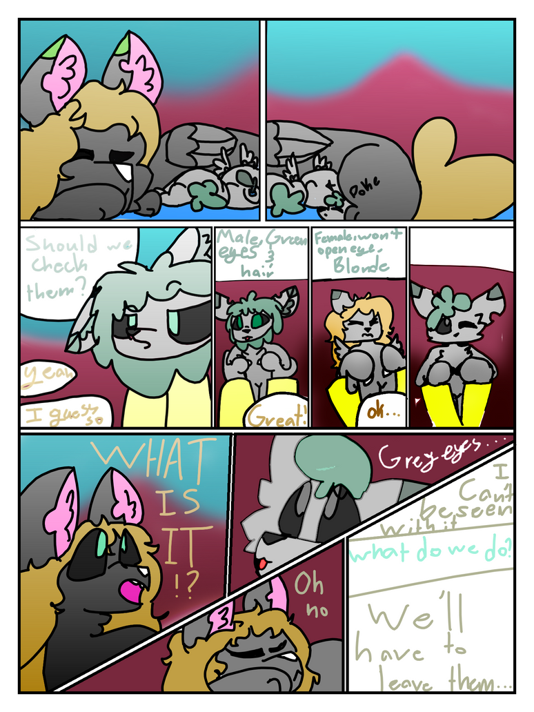 Crappy start to a crappy comic by FireLiIly