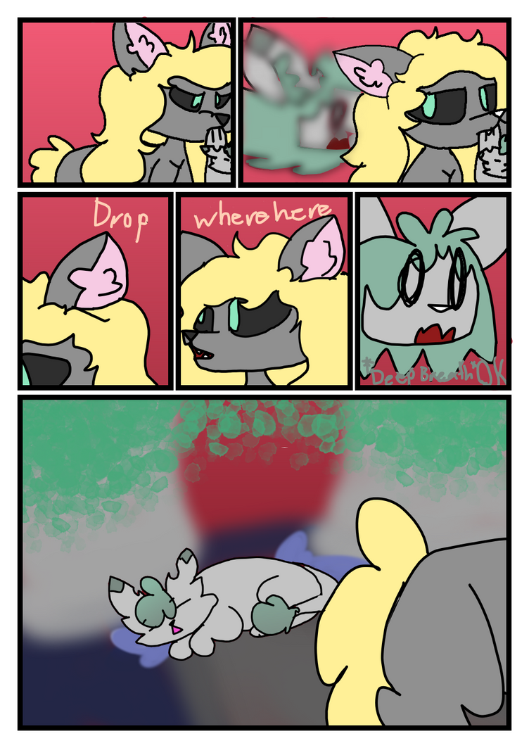 Crappy comic start page three by FireLiIly