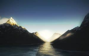 Cloudtop Lake