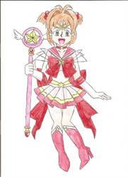 Super Sailor Sakura by animequeen20012003