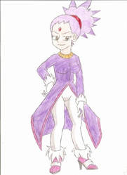 A human version of Blaze by animequeen20012003