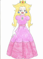 Princess Peach by animequeen20012003