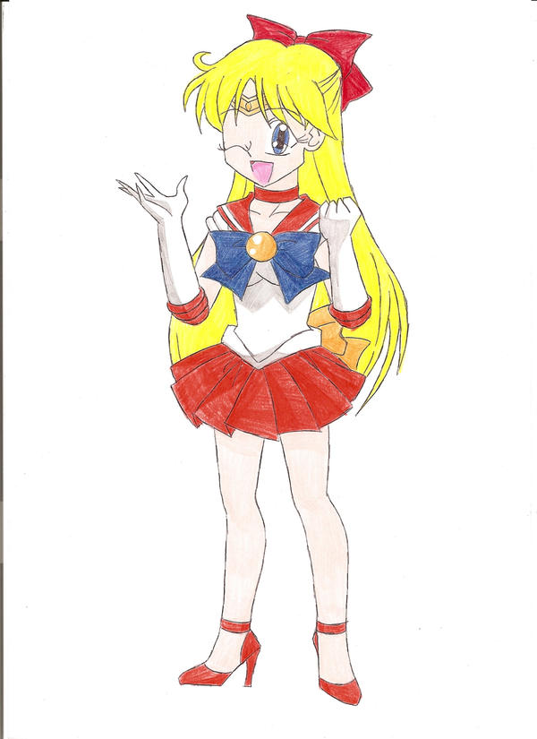 Sailor Venus by animequeen20012003