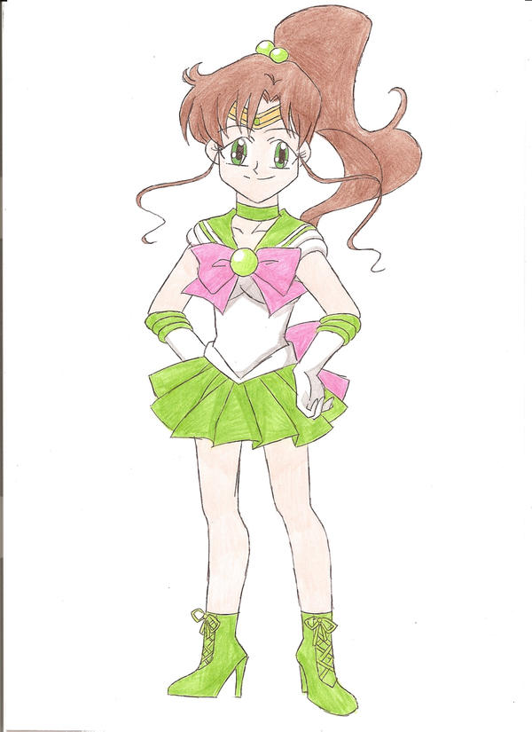 Sailor Jupiter by animequeen20012003